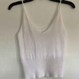 BRANDY MELVILLE knitted crop